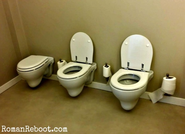 How adorable are tiny toilets?