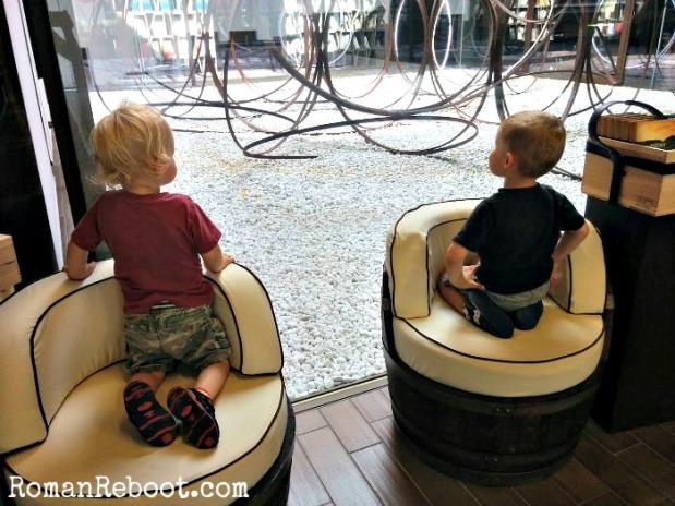 Contemplating their futures no doubt